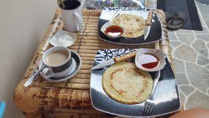 Ontbijtje bij Santai Homestay
