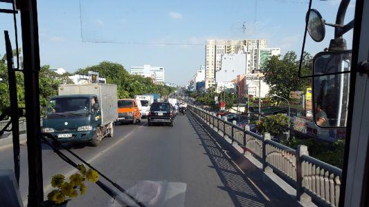 Verkeer Ho Chi Minh
