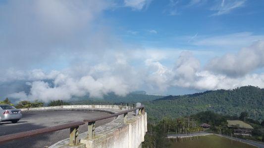 Gunung Raya uitzicht