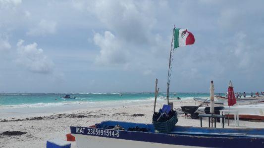 Mexico beach Santa Fe