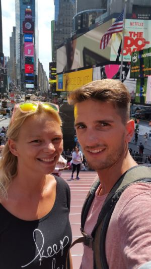 Selfie @ Times Square New York