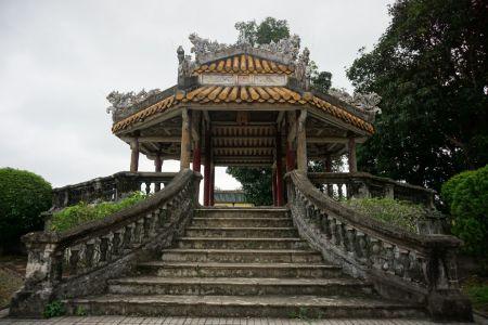 Pagoda in het Citadel