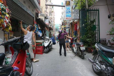 Zijstraat Ho Chi Minh