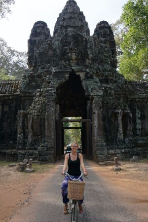 Entrance/Exit Gate Angkor Thom