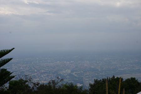View from Wat Phrathat Doi Suthep