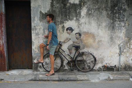 The Boys on the bike