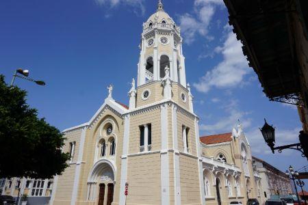 Kerk in Casco Viejo