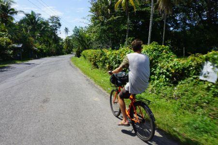 Lekker fietsn in Puerto Viejo