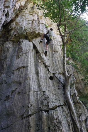Het echte klim- en klauterwerk