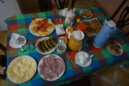 Medium ontbijt in Trinidad