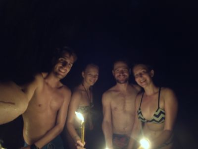 Candle light Cave tour