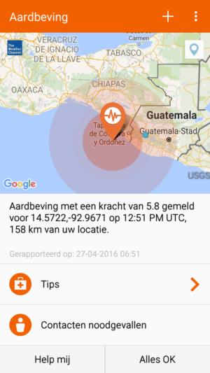 Earthquake 5.8