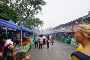 Food market Kuching